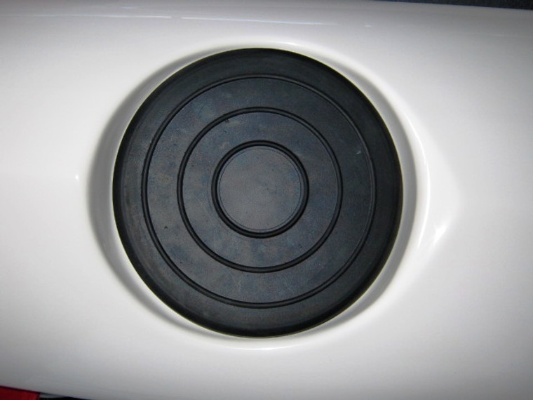 20cm Round Rubber Hatch Cover