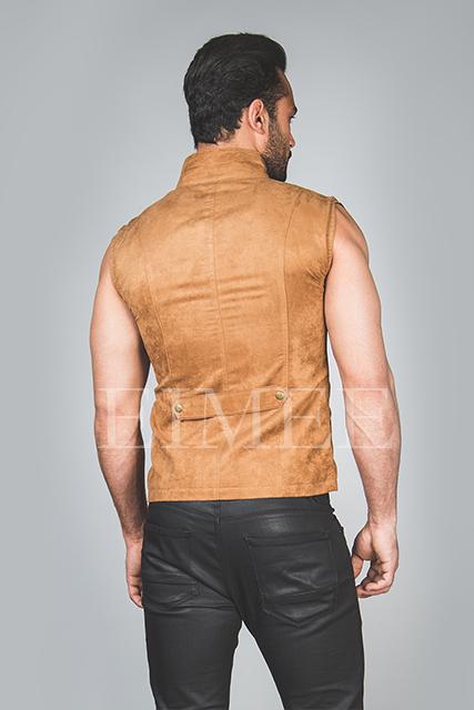 Mens Steampunk Military Waistcoat Vest SANDRO image 3