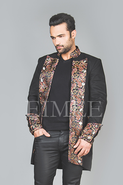 Men's steampunk elegant jacket HARRING