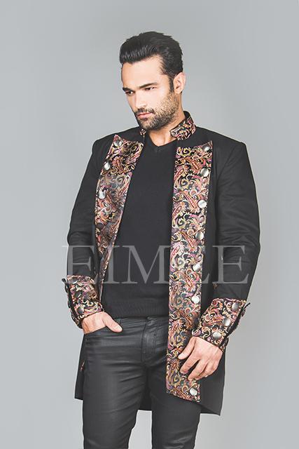 Men's steampunk elegant jacket HARRING image 2