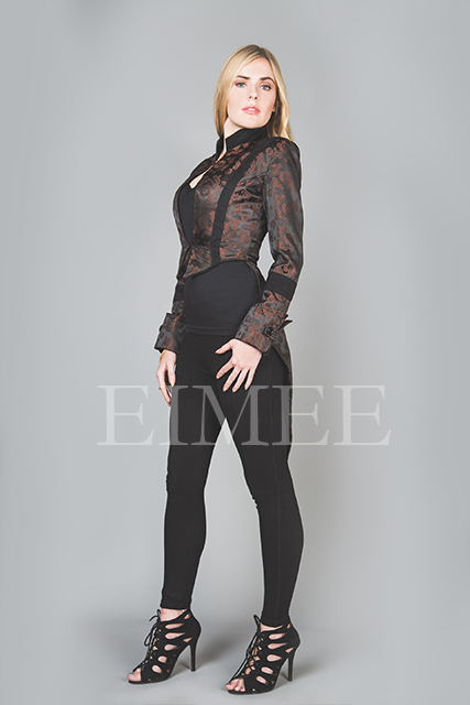 Ladies Tailcoat Formal coat top Victorian Clothing VIVIAN image 2