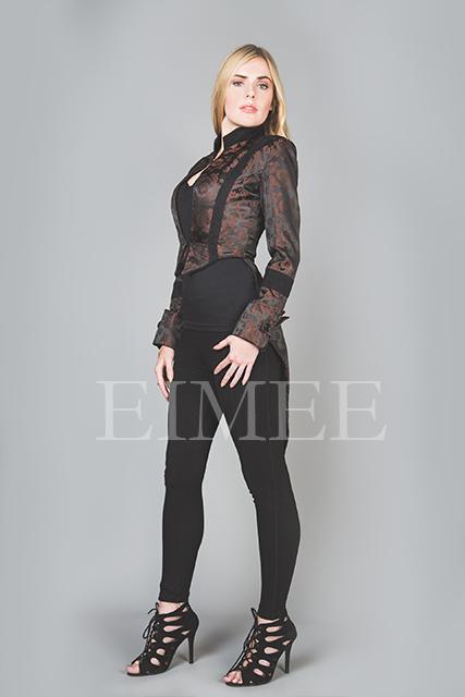 Ladies Tailcoat Formal coat top Victorian Clothing VIVIAN image 2