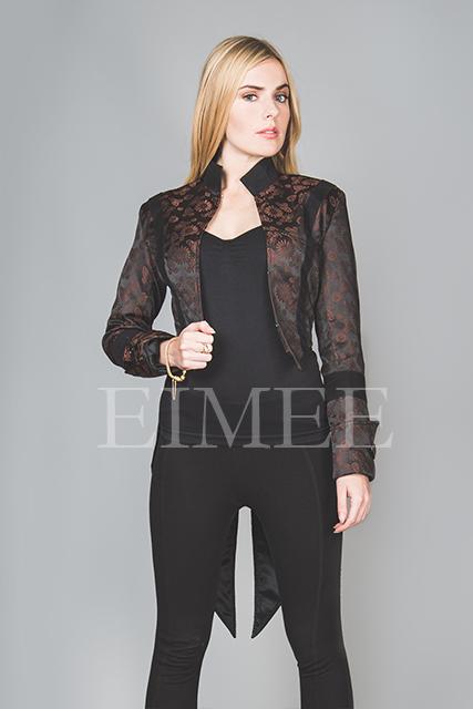 Ladies Tailcoat Formal coat top Victorian Clothing VIVIAN image 3