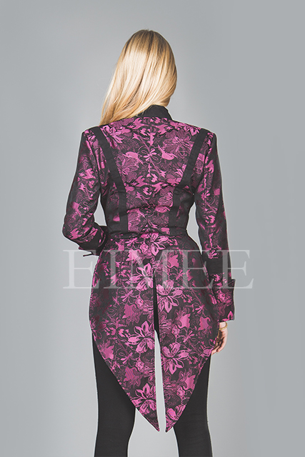 Ladies Tailcoat Formal coat top Victorian Clothing Pink VIVIAN  image 3