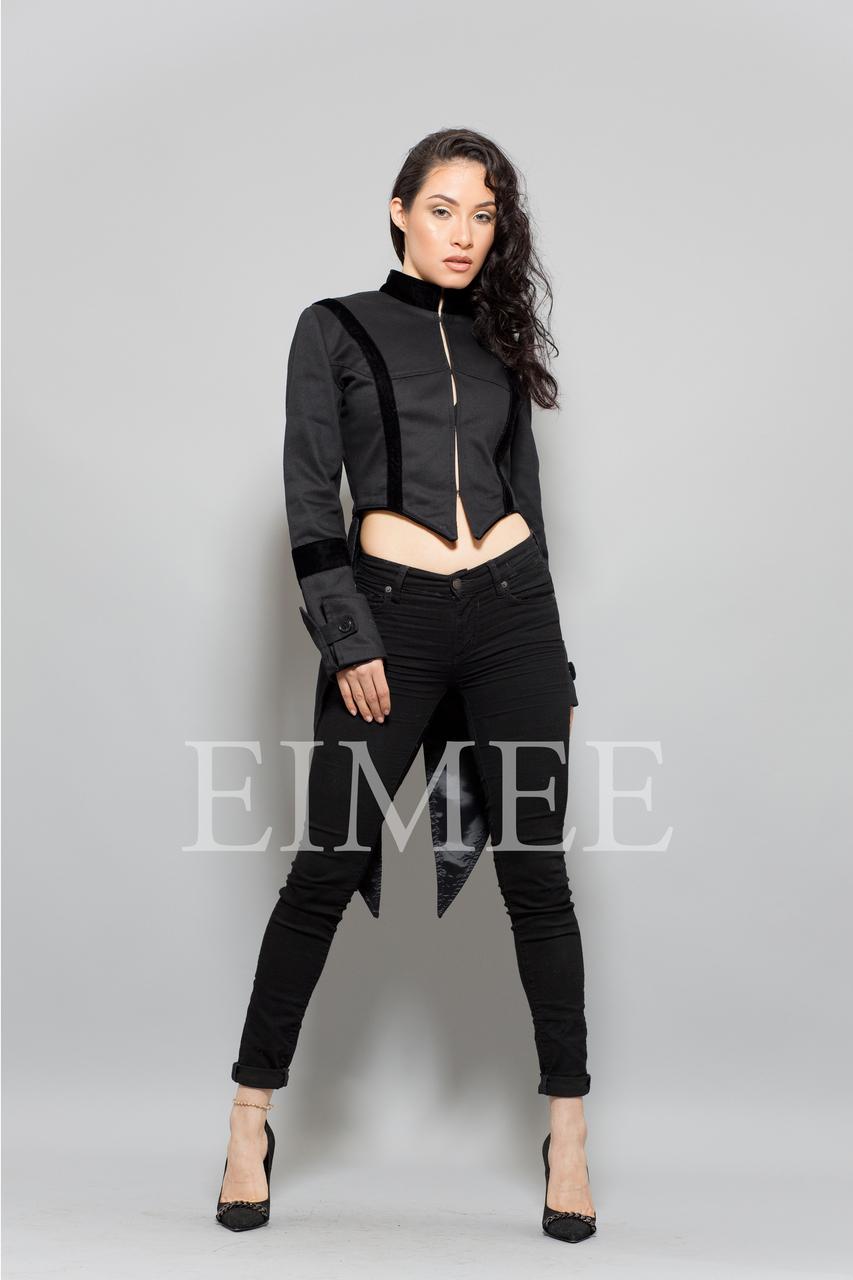 Ladies Tailcoat Formal coat top Victorian Black  image 2