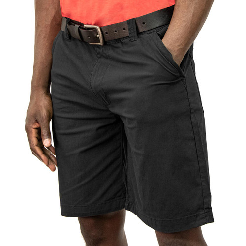 Adventure Short Cotton Nylon Spandex Zipper Closure Relaxed Fit Cell Phone Pocket Garment Washed