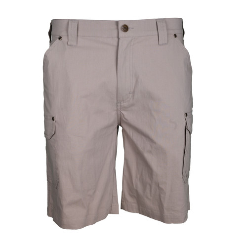 Carry-All Explorer Short Cotton Nylon Spandex Garment Washed Relaxed Fit Quick Release Cargo Pocket