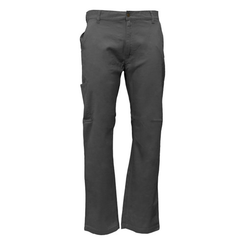 Flex Twill Pant Cotton Spandex Washed Relaxed Fit Utility Pocket Reinforced Pockets