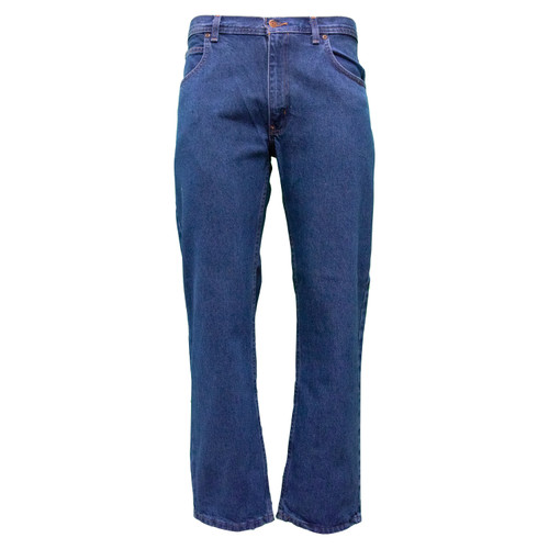 Denim 5-Pocket Jeans Relaxed Fit Cotton Enzyme Washed Reinforced Front Pockets