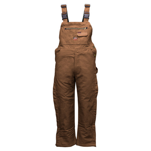 Flame Resistant Insulated Duck Bib Overall Cotton Nylon HRC Level 4 ARC 41 NFPA 70E 2112