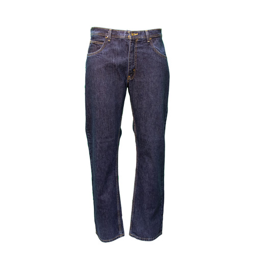 Flame Resistant Denim 5-Pocket Jean Relaxed Fit HRC Level 2 ARC Rating 19 NFPA 70E Compliant NFPA 2112 Certified