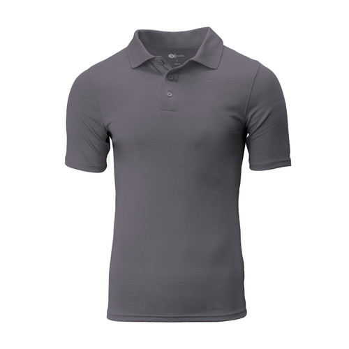 DRYve Active Comfort Polo Polyester Polypropylene 3-button placket Athletic Fit Stitched Sides