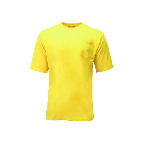 Enhanced Visibility Boost Tee Hi-Vis Cotton Polyester Left Chest Pocket Taped Seams