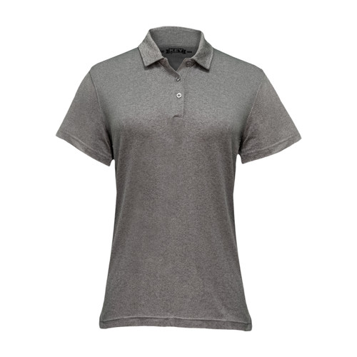 Women's Victory Polo Polyester Spandex Athletic Fit 3-Button Placket Taped Neck Stitched Seams
