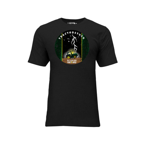 Peterson Farm Brothers Graphic Tee Cotton Polyester Short Sleeve Crew Neck