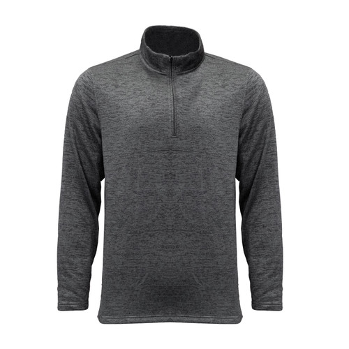 mens quarter zip pullover polyester athletic fit