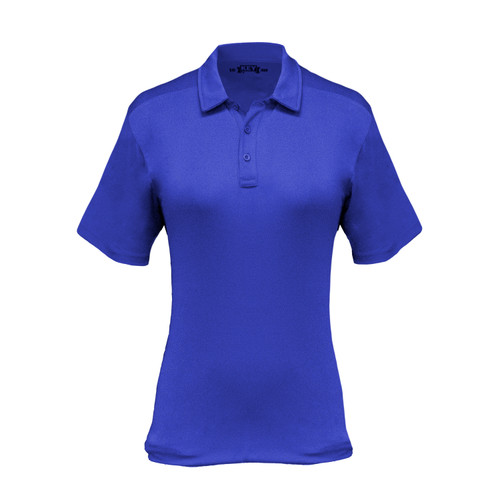 action polo athletic fit sunglass loop polyester collar button placket