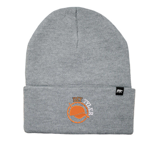 DIY Tyler Logo Beanie Acrylic Knit Thinsulate Insulation