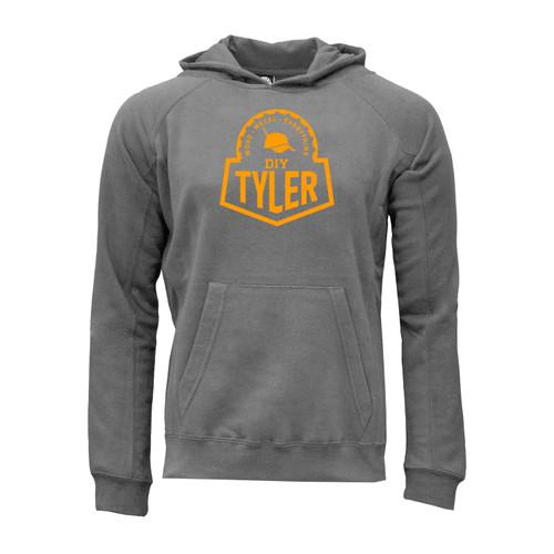 DIY Tyler Logo Hoodie Unisex Ultra-Soft Cotton Polyester Kangaroo Pocket
