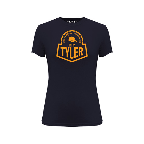DIY Tyler Graphic Tee Cotton Polyester Short Sleeve Crew Neck