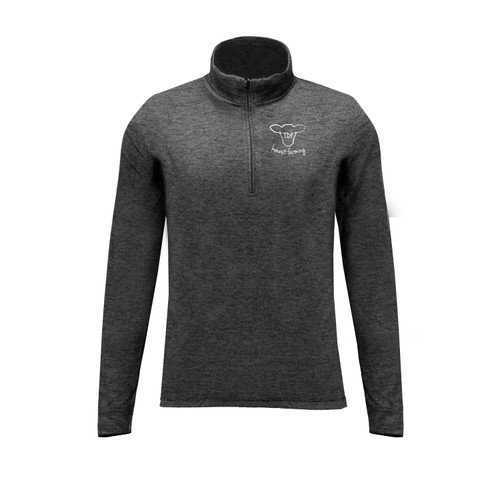 Women's TDF Logo Dynasty Quarter Zip Pullover polyester athletic fit