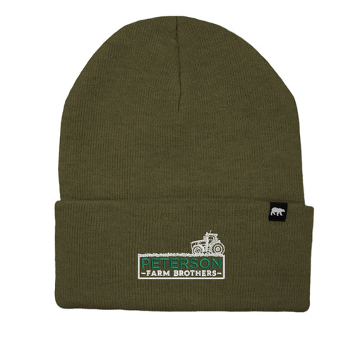 Peterson Farm Bros Logo Beanie Acrylic Knit Thinsulate Insulation