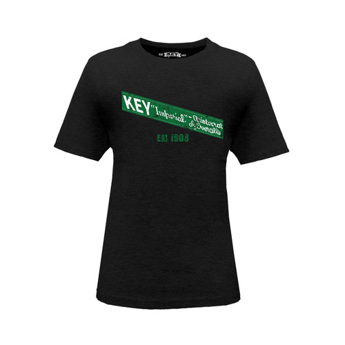 Kid's KEY Imperial Tee Cotton Polyester Crew Neck Taped Seams