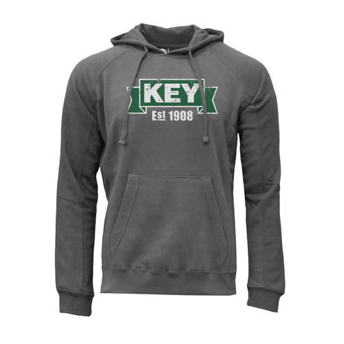 KEY Logo Hoodie Ultra-Soft Cotton Polyester Kangaroo Pocket
