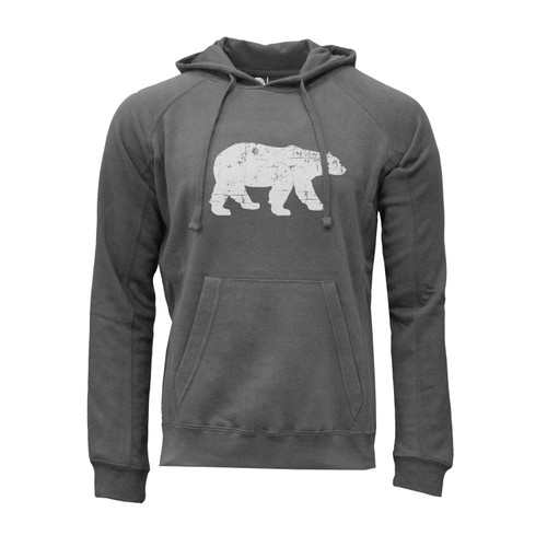 Polar King Logo Hoodie Ultra-Soft Cotton Polyester Kangaroo Pocket