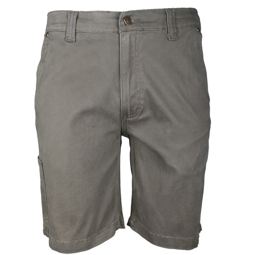 Foreman Short Flex Twill  Cotton Spandex Utility Pocket Front Patch