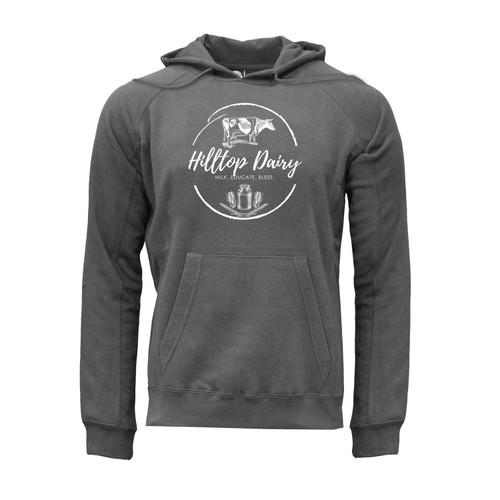 Hilltop Dairy Logo Hoodie Unisex Ultra-Soft Cotton Polyester Kangaroo Pocket