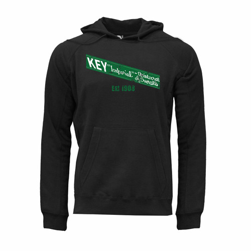 KEY Imperial Hoodie Ultra-Soft Cotton Polyester Kangaroo Pocket