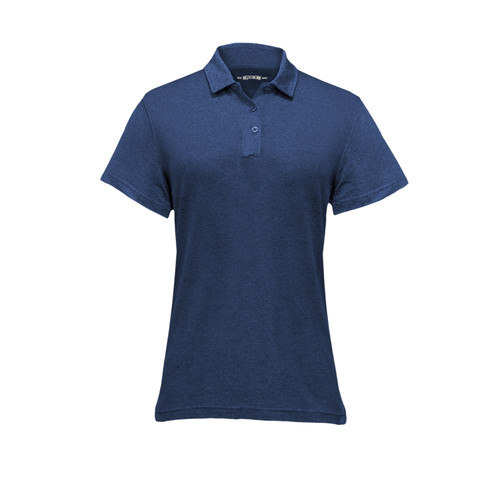 Women's Kore Polo Cotton Polyester Collar Athletic Fit 3-Button Placket Sunglass Loop