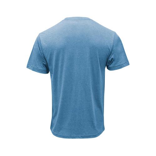 Back of Riverside blue Legendary short sleeve tee.