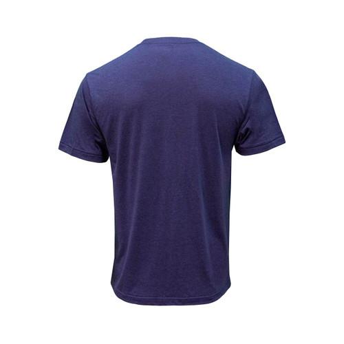 Back of short sleeve Patriot Blue Legendary Tee.