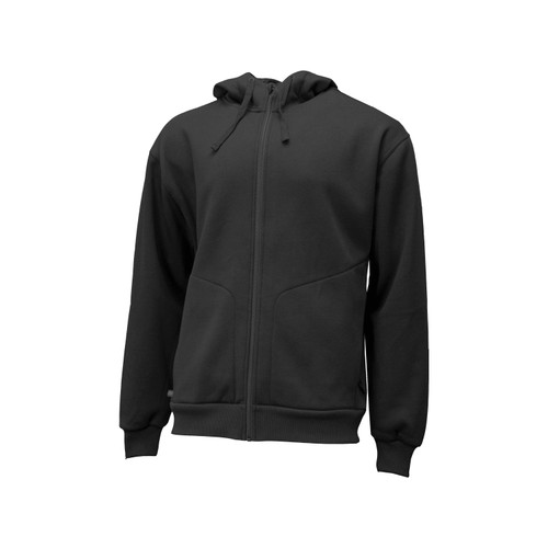 Miller Zip Front Hoodie Cotton Polyester Fleece Lining Storm Flap Chin Guard Oversized Pockets