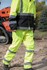 Hi-Visibility Sight Pant ANSI Class E ISEA 107-2015 Reflective Tape Adjustable Leg Opening Zipper Pocket
