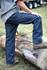 Denim Logger Dunagaree Cotton Relaxed Fit Heavyweight Suspender Buttons Utility Pocket
