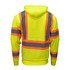 Hi-Visibility Sweatshirt Heavyweight Fleece Pocket ANSI II Class 3 ISEA 107-2015 Compliant Reflective Hood