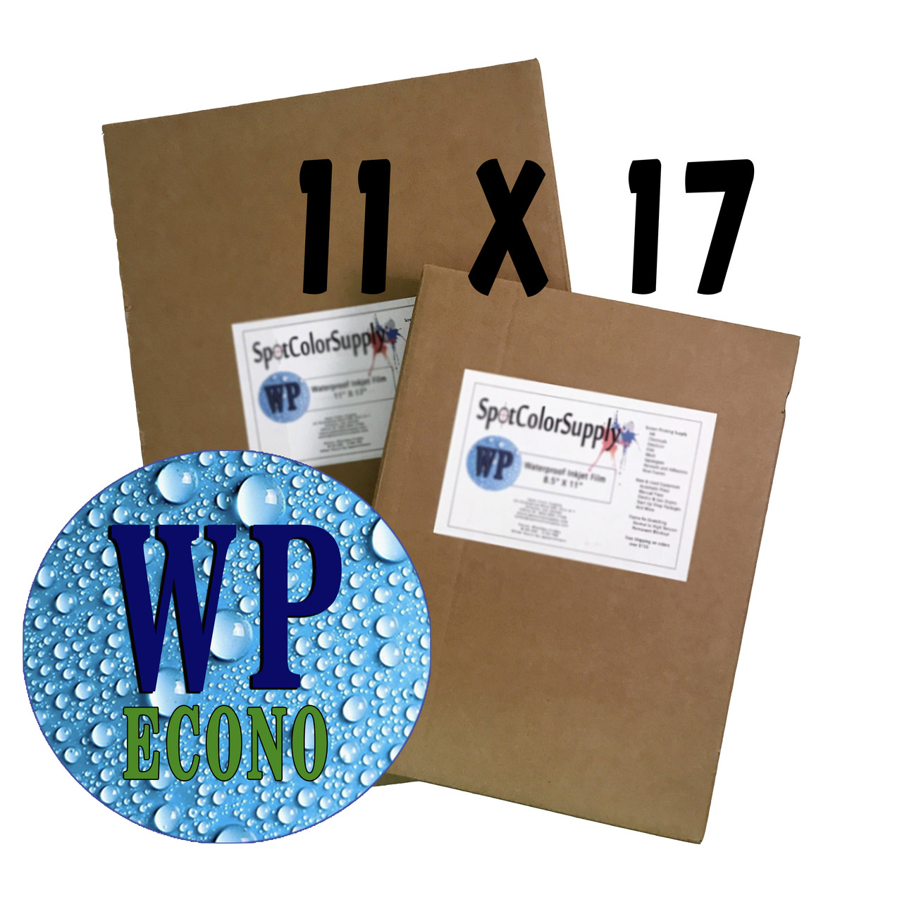 "Waterproof ECONO Film 11"" X 17"""
