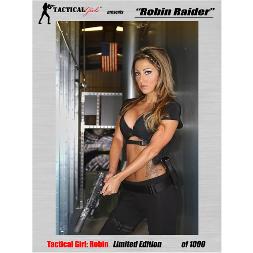 Robin Raider Signed Poster