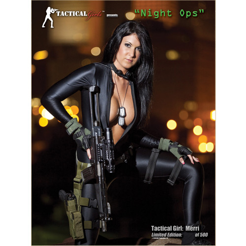 Merri Signed Night Operator Girl Poster