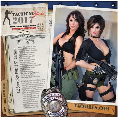 2017 Tactical Girls Gun Calendar - 10th Anniversary Edition