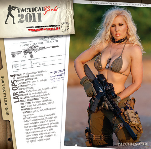 2011 Tactical Girls Gun Calendar
