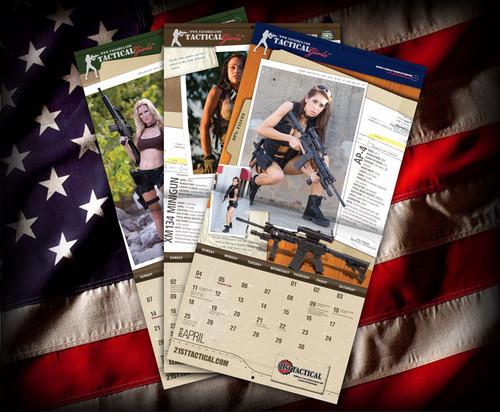 2010 Tactical Girls Gun Calendar