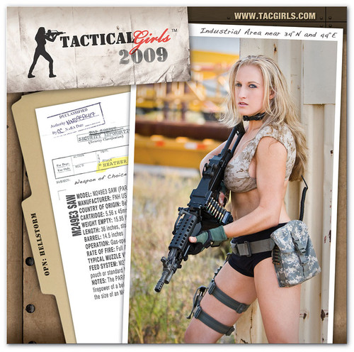2009 Tactical Girls Gun Calendar