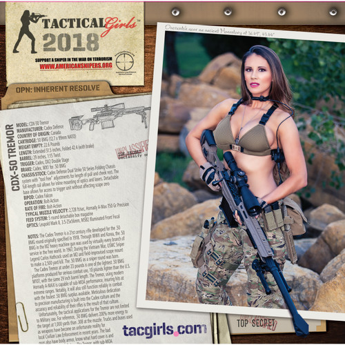 01 Tactical Girls 2018 Gun Calendar