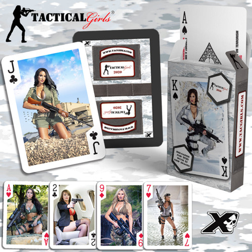 2020 Tactical Girls Playing Cards - Single Deck