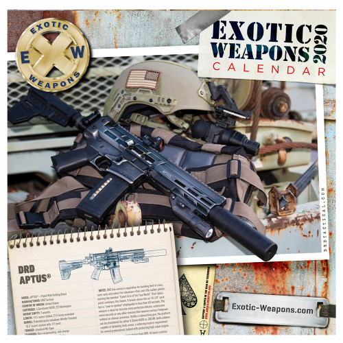 2020 Exotic Weapons Gun Calendar