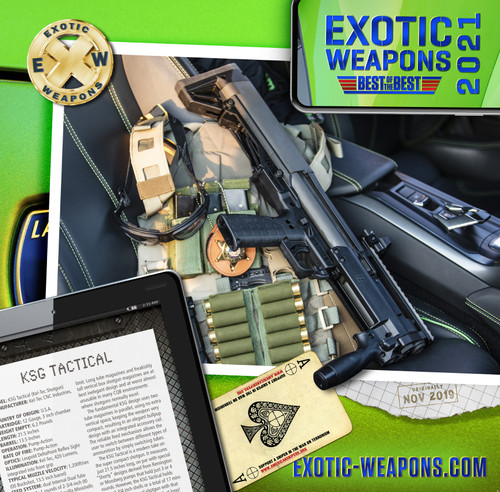 2021 Exotic Weapons Gun Calendar - Best of the Best!